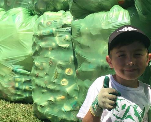 Ryan Hickman ejemplo de reciclaje