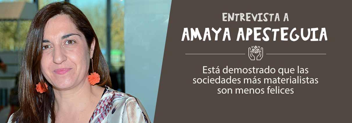 entrevista experta consumo responsable: Amaya Apesteguia