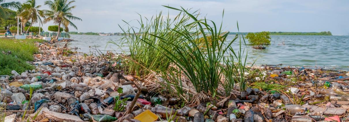 Contaminación del mar en Maracaibo