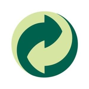 punto verde: símbolo de reciclaje
