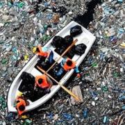 islas de plasticos