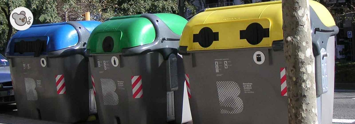 colores de contenedores reciclaje